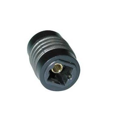 Lindy TosLink Coupler Kabel adapter - Zwart