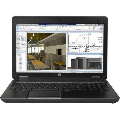 HP ZBook Valor WKS 1.X - 15 G2 - Intel Core i7 Laptop - Zwart