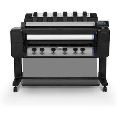 Hp grootformaat printer: Designjet T2530 - Cyaan, Grijs, Magenta, Mat Zwart, Foto zwart, Geel