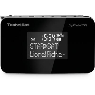 Technisat radio: DigitRadio 2GO - Zwart