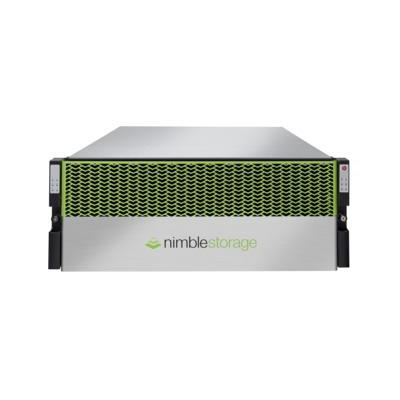 Hewlett packard enterprise Nimble Storage AF1000 SAN - Zwart, Groen, Zilver