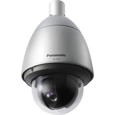 Panasonic WV-S6530N Beveiligingscamera - Zwart, Zilver