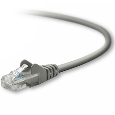 Belkin netwerkkabel: CAT5e Patch Cable Snagless Molded - Grijs
