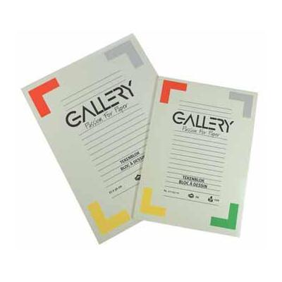 Gallery tekenpapier: TEKENBLOK 120GR 27 x 36 cm