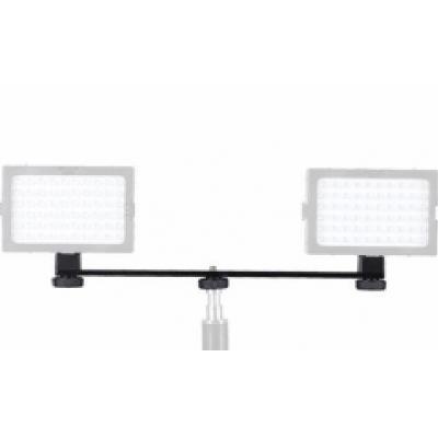 Walimex montagekit: Auxiliary Bracket 2-fold for Video light - Zwart