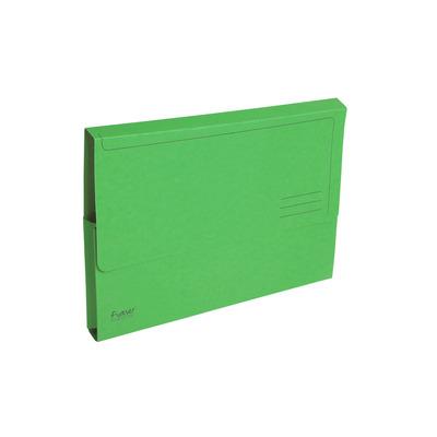 Exacompta Documentenbox Forever A4, 290 g/m², groen (verpakking 50 stuks) Map