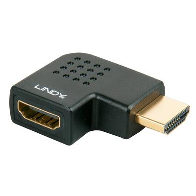 Lindy HDMI/HDMI M/F Kabel adapter - Zwart