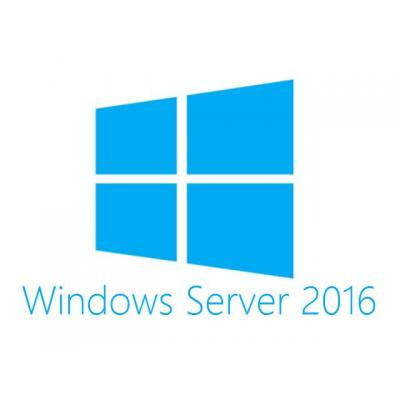 Hewlett Packard Enterprise Besturingssysteem: Microsoft Windows Server 2016 Standard Edition ROK 16 Core - DE