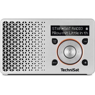 Technisat radio: DigitRadio 1 - Oranje, Zilver