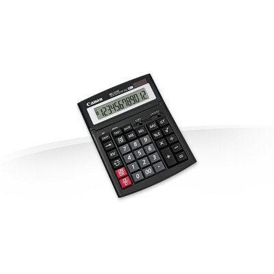 Canon calculator: WS-1210T - Zwart