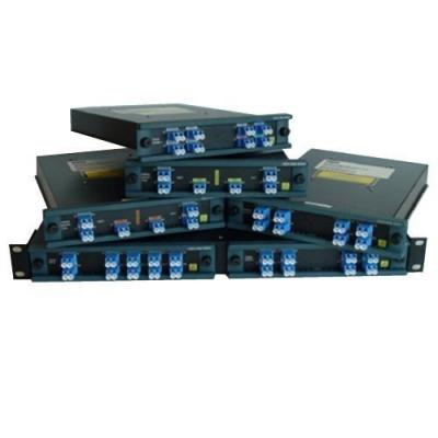 Cisco wave division multiplexer: 4 channels (1470, 1490, 1510, and 1530) optical add/drop multiplexer (OADM) with .....