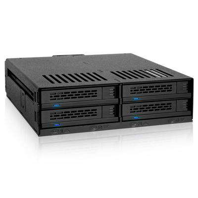 """Icy Dock MB324SP-B - 2.5"""" HDD/SSD CAGES SAN - Zwart"""