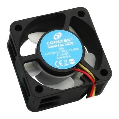 Cooltek Silent Fan 4020 Hardware koeling - Zwart, Wit