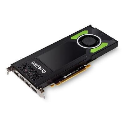 Dell videokaart: NVIDIA Quadro P4000 8GB GDDR5 - Zwart, Groen