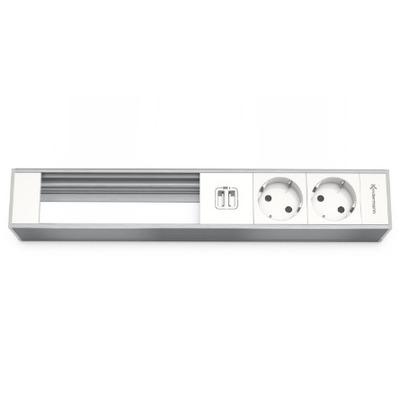 Kindermann 7449000332 Inbouweenheid - Aluminium, Wit