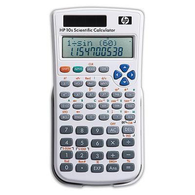 Hp calculator: 10s Scientific Calculator - Grijs, Wit