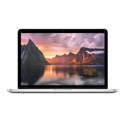 "Apple laptop: MacBook Pro 13"" Retina display - 256GB - 2.7GHz Intel Core i5 - Zilver, QWERTY"