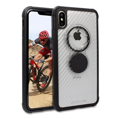 Rokform 304720P Mobile phone case - Zwart, Transparant