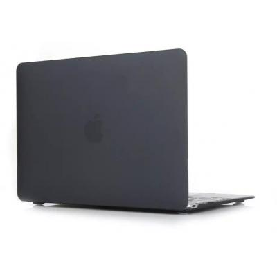 Gecko Clip On Cover for 12-Inch MacBook - Black Laptoptas