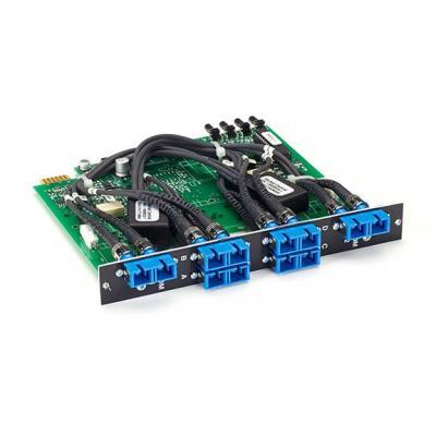 Black Box Pro Switching System Multi Switch Card - Fiber Single-mode, 3-to-1, Latching Netwerkkaart