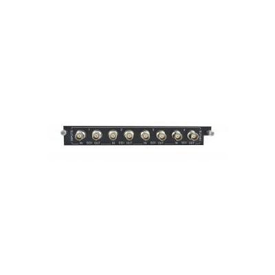 PTN-Electronics 4 SDI inputs & 4 SDI loop outputs, Hot-swappable Interfaceadapter - Zwart