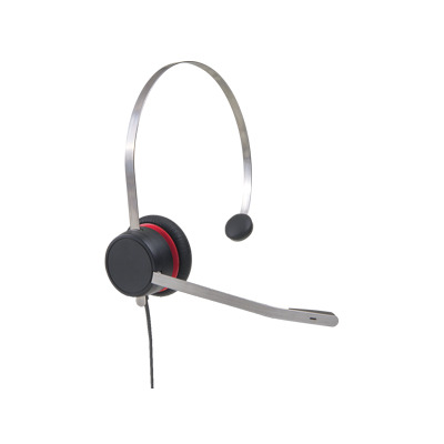 Avaya L139 Headset - Zwart, Rood, Zilver