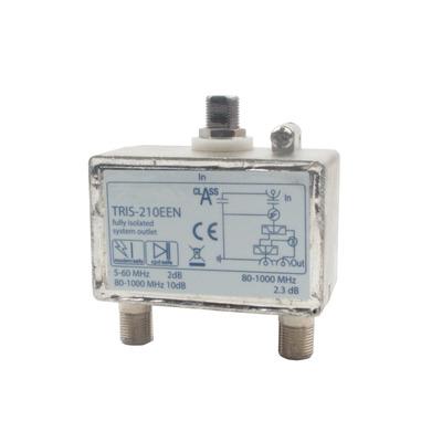 Hirschmann TRIS 210E Kabel splitter of combiner - Metallic