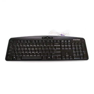 Acer Keyboard (Czech), PS/2, Black - QWERTZ toetsenbord - Zwart