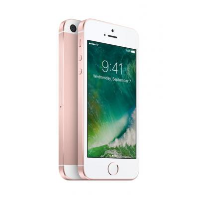 Apple smartphone: iPhone SE 128GB Rose Gold - Roze goud