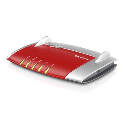 AVM FRITZ!Box 4040 Wireless router - Rood,Zilver