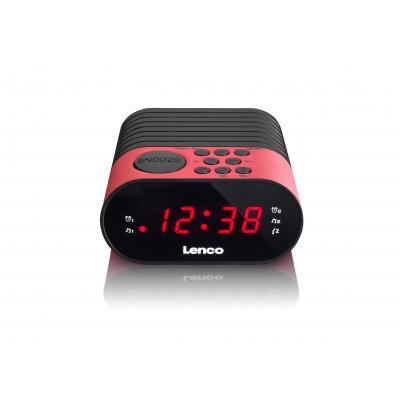 Lenco radio: CR-07 - Zwart, Roze