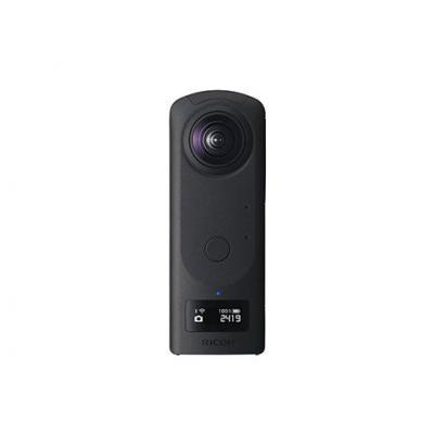 Ricoh 7296×3648, 23MP, CMOS, 360, 4K, 3840x1920, JPEG, RAW, OLED, 128x36, 1/25000, 19GB, USB Type C - Zwart