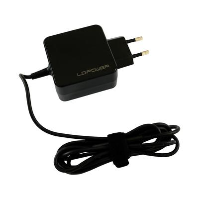 LC-Power 110-240 V, 50/60 Hz, 31 W, 1.1 A, 58 x 58 x 29 mm Netvoeding - Zwart