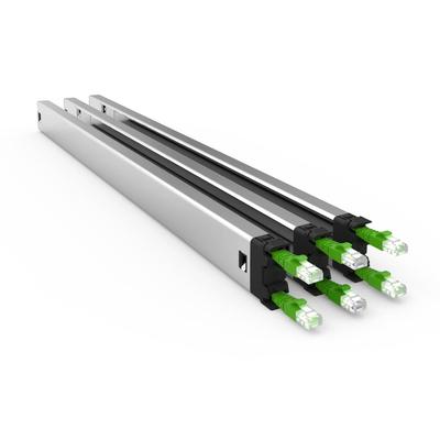 PATCHBOX Plus+ UTP - Zwart, Groen, Zilver