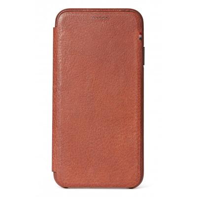 Leather Slim Wallet iPhone Xr - Bruin - Bruin / Brown Mobile phone case