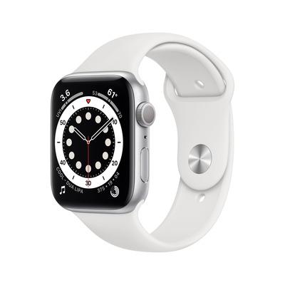 Apple Watch Series 6 44mm 32GB aluminium White Silver Smartwatch