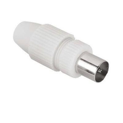Hama Antenna Male Plug, Coaxial, Clamp Type Coaxconnector