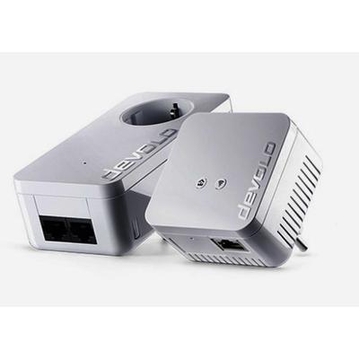 Devolo powerline adapter: dLAN 550 WiFi Starter Kit - Wit