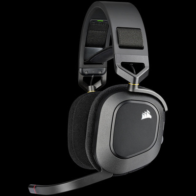 Corsair HS80 RGB Headset - Zwart