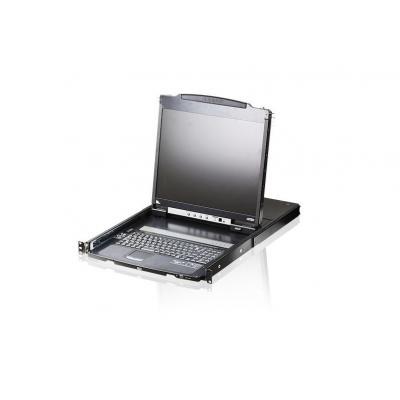 Aten rack console: CL5800N - Zwart