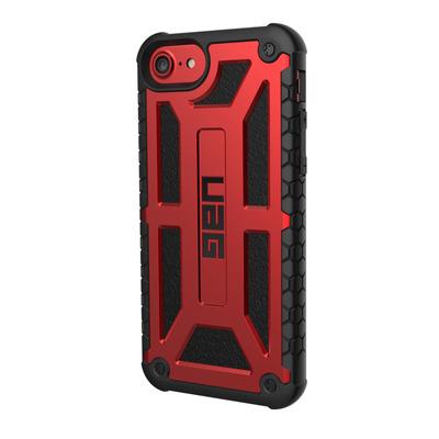 Urban Armor Gear IPH8/7-M-CR Mobile phone case - Zwart, Karmijnrood