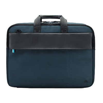 Mobilis Executive 3 Laptoptas - Zwart, Blauw