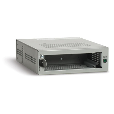 Allied Telesis Single slot chassis f/ unmanaged, standalone Media/Bridging Media Converter Netwerkchassis
