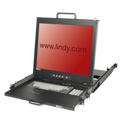 Lindy 21620 Rack console - Zwart