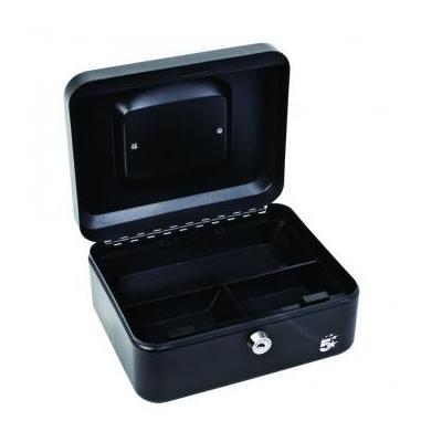 5star geldkist: Geldkoffer ft 20 x 9 x 16 cm, zwart