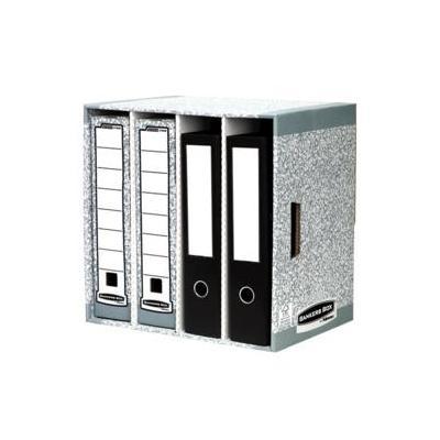Fellowes archiefdoos: Bankers Box System ordner opbergsysteem - Grijs