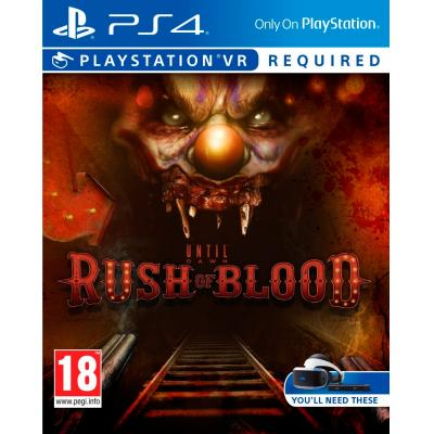 Sony game: Until Dawn, Rush of Blood VR  PS4