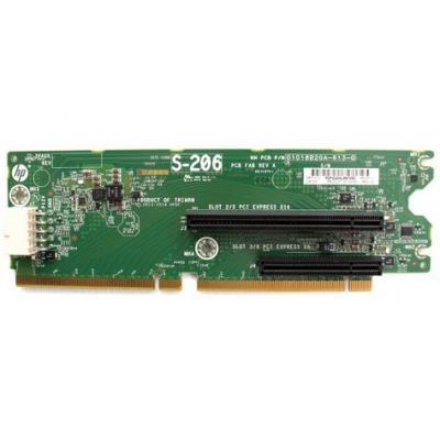 HP PCI board 2 slot x16/x8 Interfaceadapter - Groen