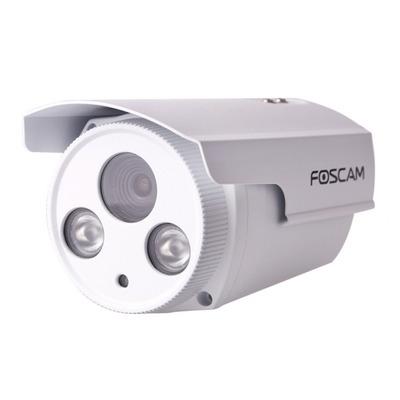"Foscam beveiligingscamera: 1/3"" CMOS, 2 Mpix, 1920 x 1080, 30fps, 0 Lux, RJ45, H.264, - Wit"