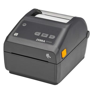 Zebra ZD420d DT - USB - Ethernet - BTLE (203dpi) Labelprinter - Grijs